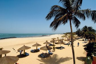 Cape Point Beach in The Gambia, new from Stansted this winter